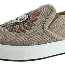 Donald J Pliner Caleb Men's Beaded Skull Slip-on Sneakers Shoes Size 13 Photo