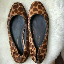 Donald J Pliner Calf-Hair Animal Print Flats Sz 7.5 Photo