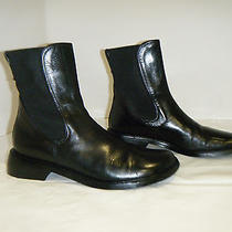 Donald J Pliner Fashion Ankle High Boots Size 7.5 M Women Used Black  Photo