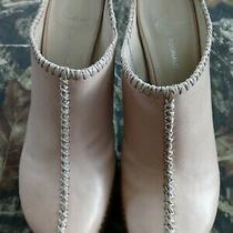Donald J Pliner -Lisa- Leather High Heel Open Back Mules Sz 7.5  Photo