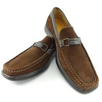 Donald J. Pliner Men's Casual Suede Loafers Size 9 Shoes Italian  Photo