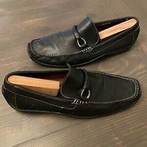 Donald J. Pliner Mens Leather Loafers Sz 12 Photo