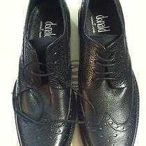 Donald J Pliner Mens New Black Leather Oxford Dress Shoes Size 10m Photo