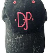 Donald J. Pliner New Baseball Cap Hat Autographed on Bill - Signed 2007 Photo