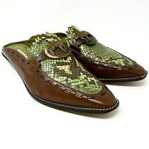 Donald J Pliner Rare Hand Made Iguana Made in Spain Mules Womens Size Us 8m Photo