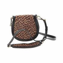 Donald J Pliner Women Brown Crossbody Bag One Size Photo