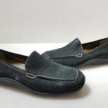 Donald J Pliner Women's Black Suede Nadia Sport Slip-on Shoes Sz. 6 Photo