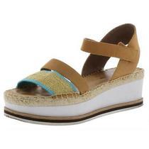 Donald J. Pliner Womens Anie Tan Platform Sandals 8.5 Medium (Bm) Bhfo 3748 Photo