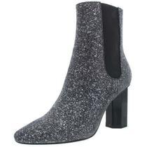 Donald J. Pliner Womens Laila Silver Booties Shoes 5 Medium (Bm) Bhfo 6525 Photo