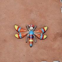 Donald  Pliner Purse Small Shoulder Bag Dragonfly Emblem Suede/leather Photo