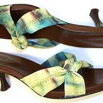 Donald Pliner Tie-Dye Sandals 6.5 or Shoes Heels Pumps 6 1/2 Photo