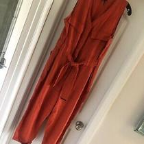 Donna Karan Linen Jumpsuit Xl Photo