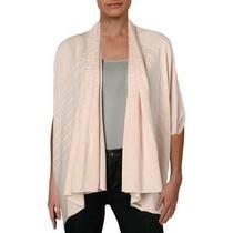 Donna Karan Womens Pink Sleeveless Ribbed Cardigan Sweater Top Xs/s Bhfo 8823 Photo