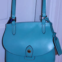 Dooney and Bourke Aqua Happy Bag Handbag Purse Crossbody Nwt Photo