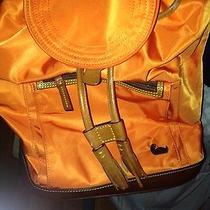Dooney and Bourke Backpack Orange Photo