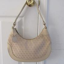 Dooney and Bourke Cream Medium Hobo Shoulder Bag Photo