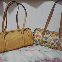 Dooney and Bourke Croc and Hearts Barrel Shoulder Bags Photo