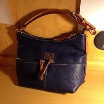 Dooney and Bourke Dillen Leather Medium Zipper Pocket Hobo Bag Photo