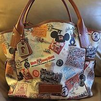 Dooney and Bourke Disney 40th Anniversary Kristen Tote and Matching Wallet Photo