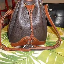 Dooney and Bourke Drawstring Bucket Tote Photo