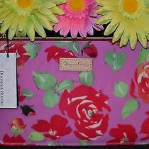 Dooney and Bourke Floral Cosmetic Pouch-Pink Photo