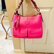 Dooney and Bourke Florentine Leather Kingston Hobo Violet Photo