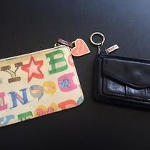 Dooney and Bourke & Fossil Brand Change Purse Card Wallet Photo