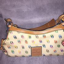 Dooney and Bourke Handbag Multicolor Signature Log  Photo
