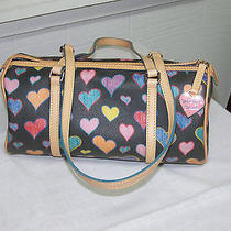 Dooney and Bourke Hearts Barrel Purse Photo