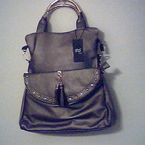 Dooney and Bourke Inspired Silver Color Two Purses for One Price Photo