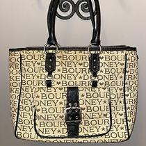 Dooney and Bourke Jaquard Tote Cream Large Photo
