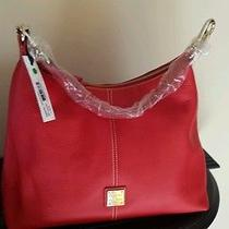 Dooney and Bourke Juliette Hobo. Red. New With Tags. Photo