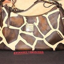 Dooney and Bourke Large Giraffe Hobo-  Good Used Condition Photo