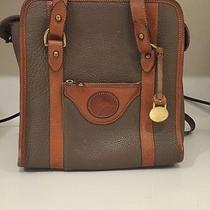 Dooney and Bourke Leather Beige Tote Bag Photo