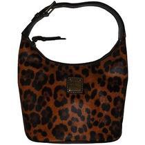 Dooney and Bourke Leopard Bucket Bag Brown T-Moro Ifs00074164 Photo