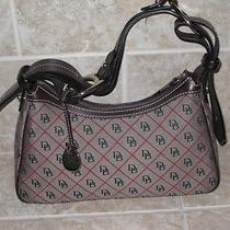 Dooney and Bourke Medium Size Zip Top Dooney Logo Handbag Photo