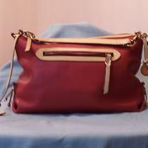 Dooney and Bourke Pebble Leather Sac Red Photo