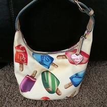 Dooney and Bourke Popsicle Patten Hobo Purse Used Once Photo