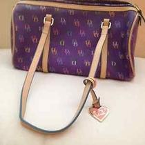 Dooney and Bourke Purple Handbag Photo