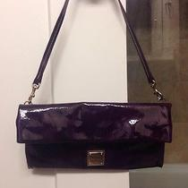 Dooney and Bourke Purple Patent Leather Purse  Photo