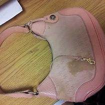 Dooney and Bourke Purse Pink Hobo Style Small Photo