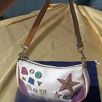 Dooney and Bourke Signature Charms and Leather Trim Small Hobo Bag With Dustbag Photo