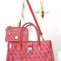 Dooney and Bourke Signature Handbag and Purse Photo