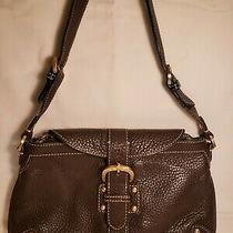 Dooney and Bourke Small Leather Hobo Bag Brown Color - Pre-Owned  Photo