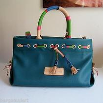 Dooney and Bourke Tassel Tote Pocketbook   Brand New With Tags and Registration Photo