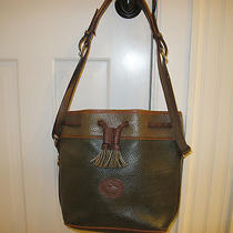 Dooney and Bourke Vintage Draw String Bucket Shoulder Bag. Good Condition. Photo