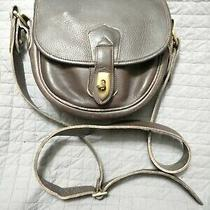Dooney & Bourke All Weather Leather Crossbody Vintage Purse Photo