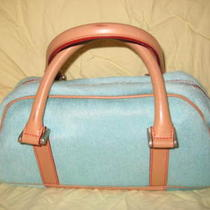Dooney & Bourke Aqua Purse Photo