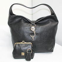 Dooney & Bourke Black Leather Hobo Wacc Photo