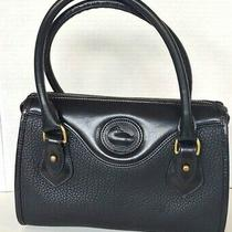 Dooney & Bourke  Black  Pebbled Leather Small Bag Handbag Purse Photo